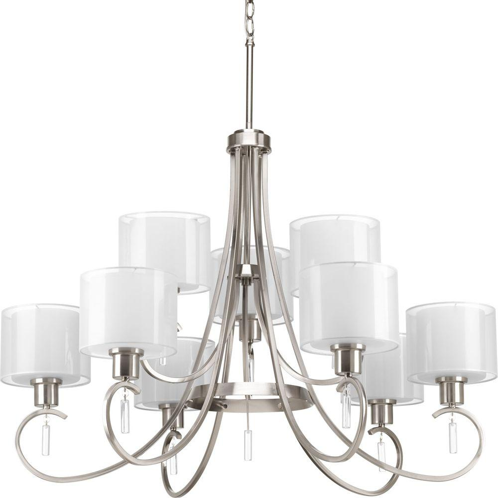 Collection 9 Light Brushed Nickel