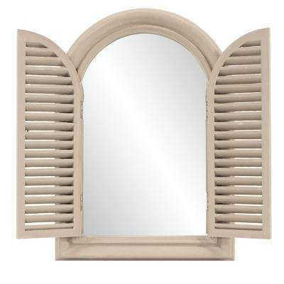 Portico Arched Decorative Mirror