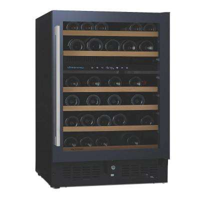 N'FINITY PRO S 46-Bottle 23.75 in. Dual Zone Wine Cellar