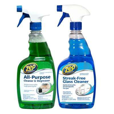 32 oz. All-Purpose Cleaner and Degreaser with Streak-Free Glass Cleaner