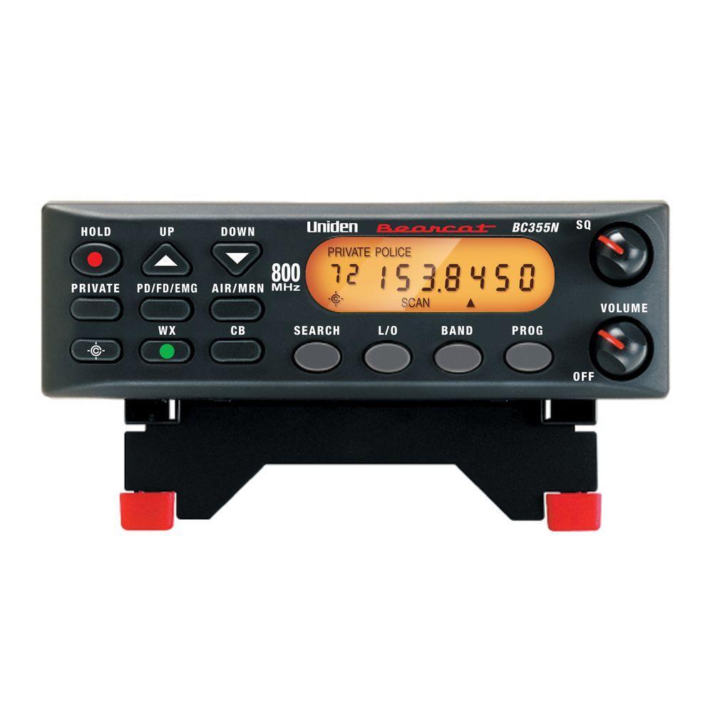 Uniden Trunktracker V-Digital Mobile Scanner-BCD996P2 - The