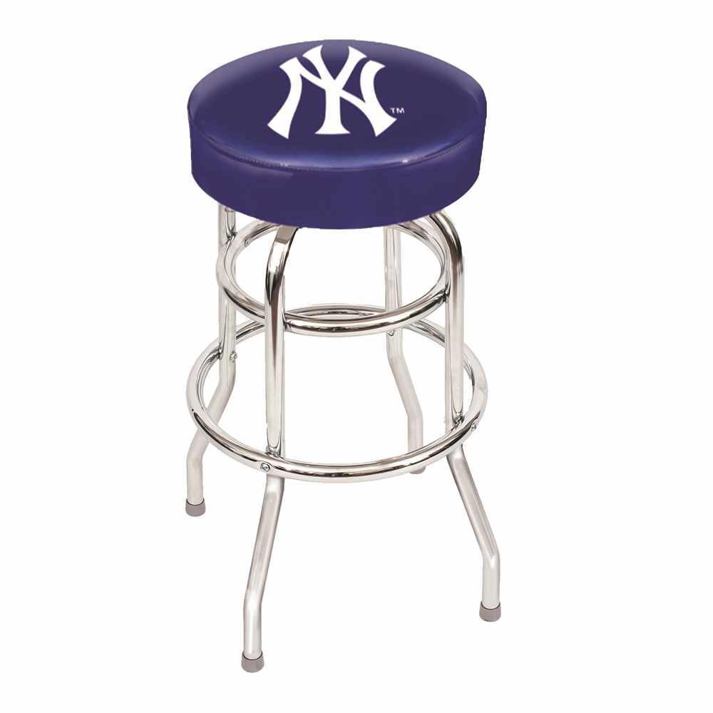New York Yankees Bar Stool Imp 26 3001 The Home Depot