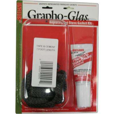 3/8 in. x 7 ft. Grapho-Glas Replacement Gasket Kit