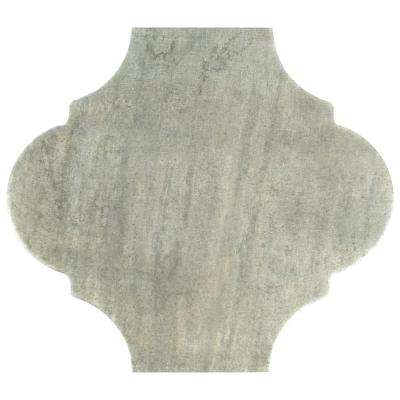 Fusion Provenzal Iron 10-3/8 in. x 11-3/8 in. Porcelain Floor and Wall Tile