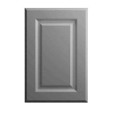 11x15 in. Elgin Cabinet Door Sample in Heron Gray