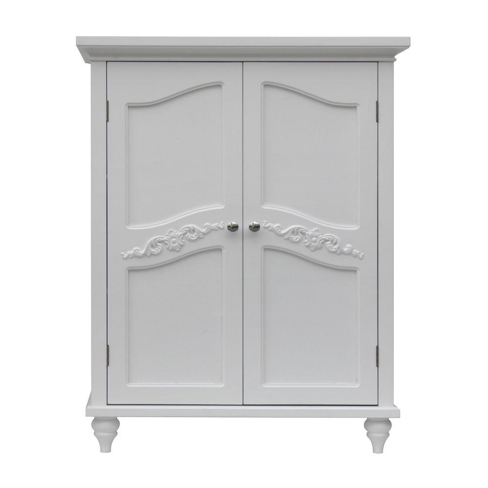 linen storage cabinet home fashions venice 34 in h x 27 in w x 13 3 4 22722
