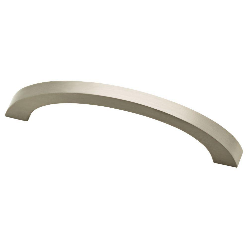 Simple Comforts 3-3/4 in. (96mm) Satin Nickel Cabinet Pull