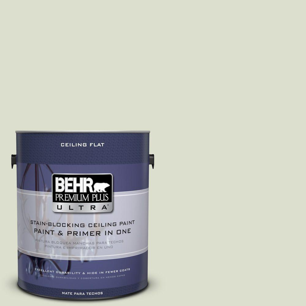 BEHR Premium Plus Ultra 1 gal. #PPU10-15 Ceiling Tinted to Desert Springs Interior Paint