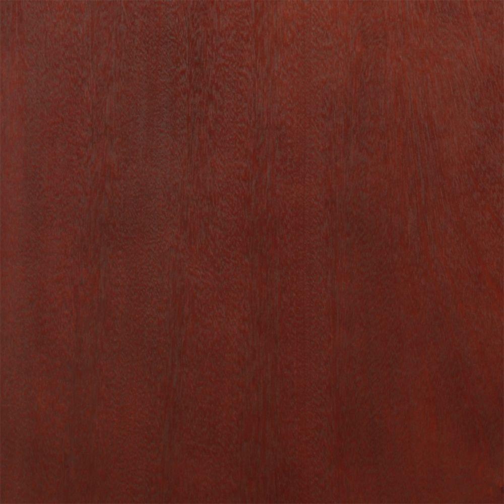 4 in. x 4 in. Wood Vanity Finish Sample in Tobacco