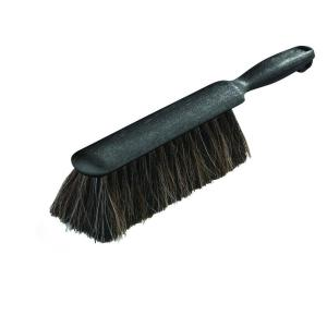 Carlisle 8 inch Horse-Hair Counter/Duster Brush in Gray (Case of 12) by Carlisle
