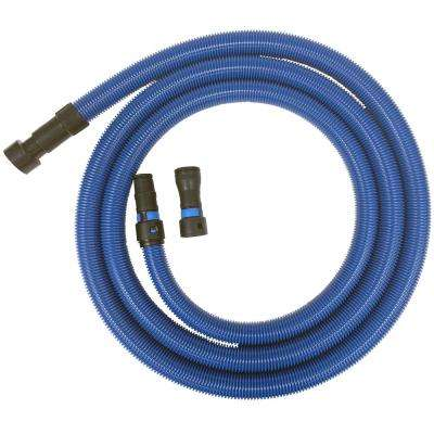 16 ft. Antistatic Vacuum Hose with Universal Power Tool Adapter Set for Wet/Dry Vacuums