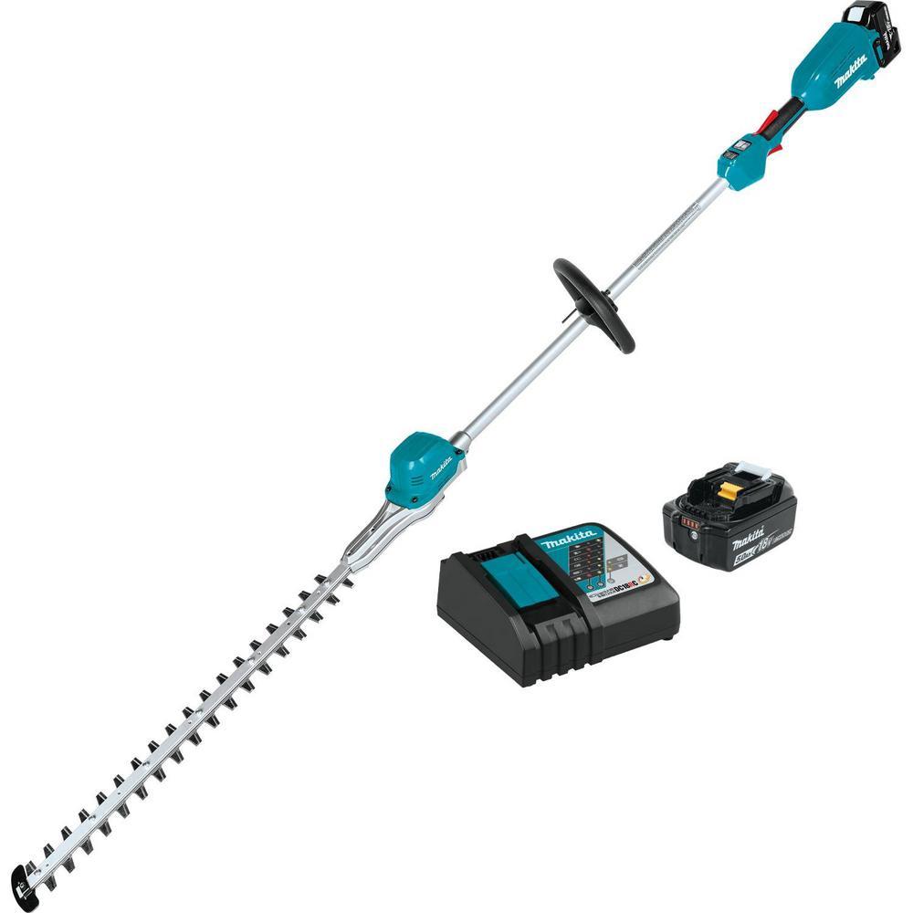 18-Volt LXT Brushless 24 in. Pole Hedge Trimmer Kit (5.0 Ah)