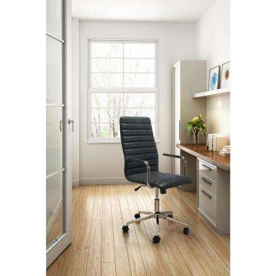 Pivot Vintage Black Office Chair
