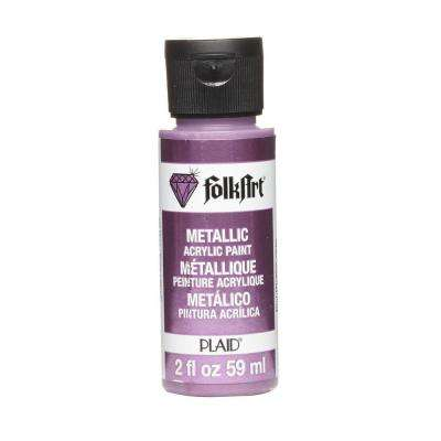 2 oz. Plum Metallic Craft Paint