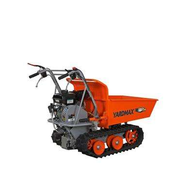 Power Trackbarrow with Gas Shock Assist Hopper