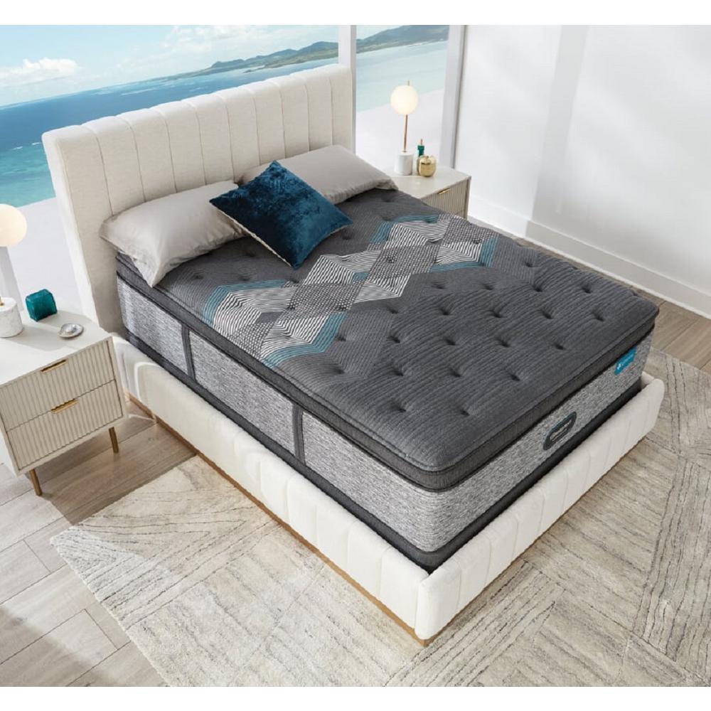 Harmony Lux HLD-2000 17.25 in. Medium Innerspring Pillow Top Full Mattress