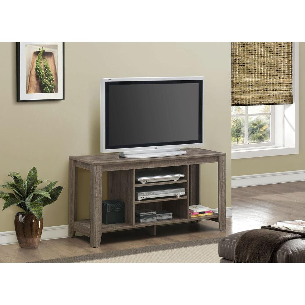 monarch specialties tv stand. Monarch Specialties Dark Taupe Entertainment Center Tv Stand D