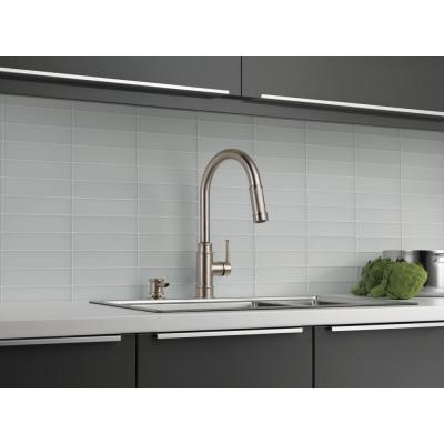 Allentown Single-Handle Pull-Down Sprayer Kitchen Faucet with Soap in SpotShield Stainless