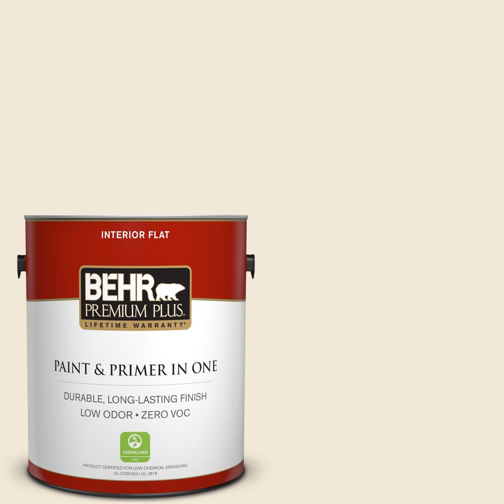 1 gal. #13 Cottage White Flat Interior Paint