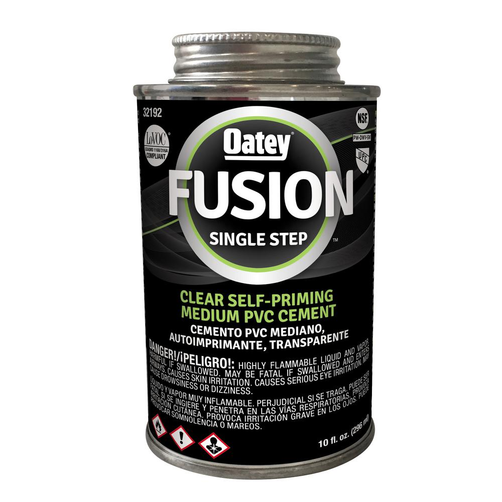 10 oz. Fusion One Step PVC Cement