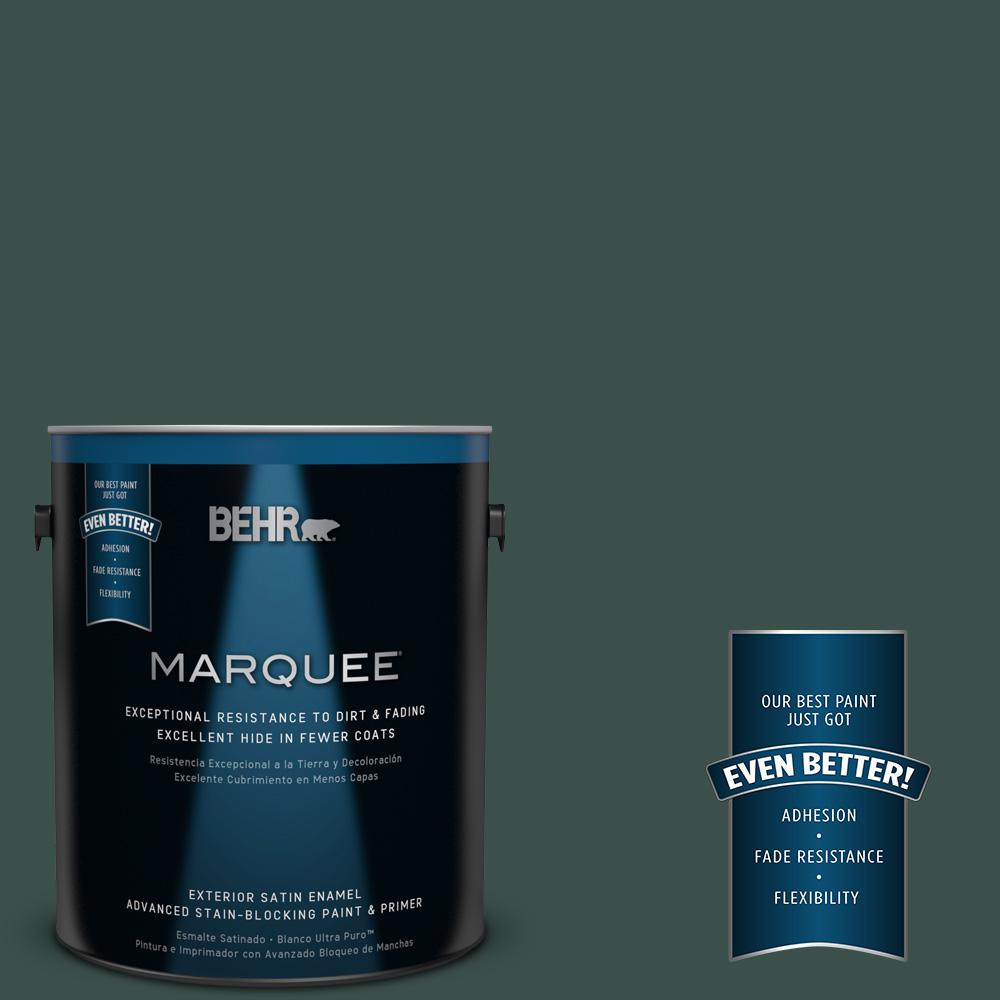 BEHR MARQUEE 1-gal. #480F-7 Sycamore Tree Satin Enamel Exterior Paint