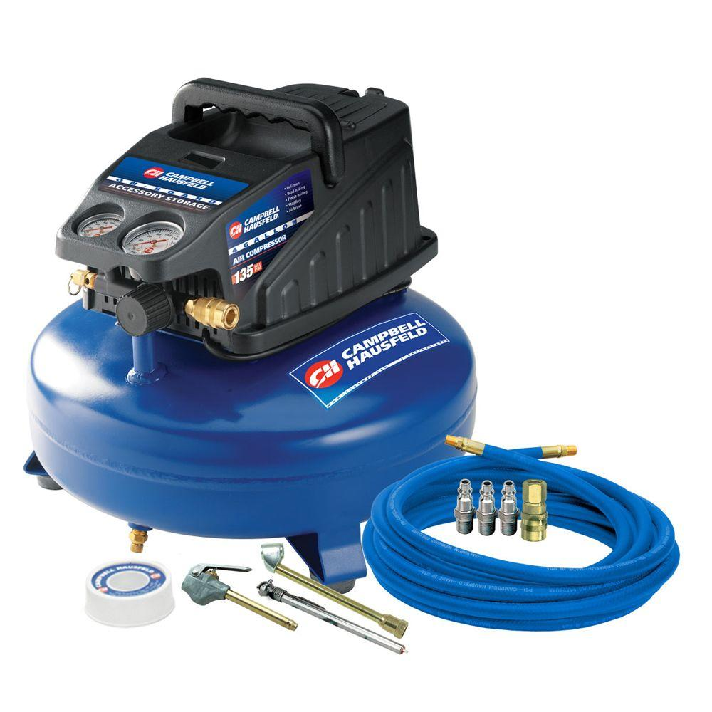 null Campbell Hausfeld 4-Gal. Air Compressor with Inflation Kit-DISCONTINUED