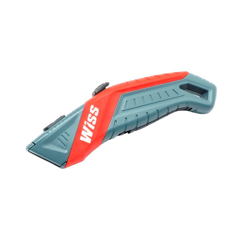 Wiss Auto Retracting Box Cutter Sharp Razor Blade