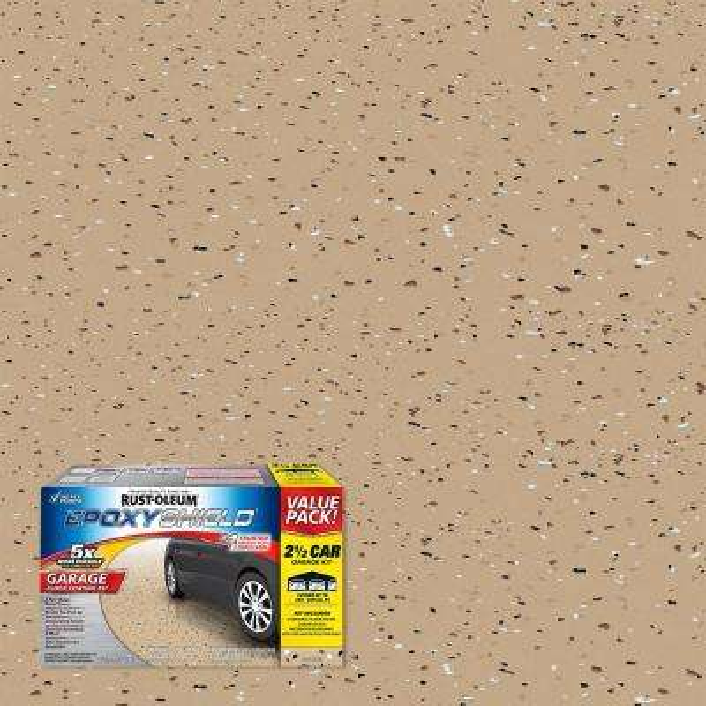 2 Gal. Tan Garage Floor Interior Epoxy