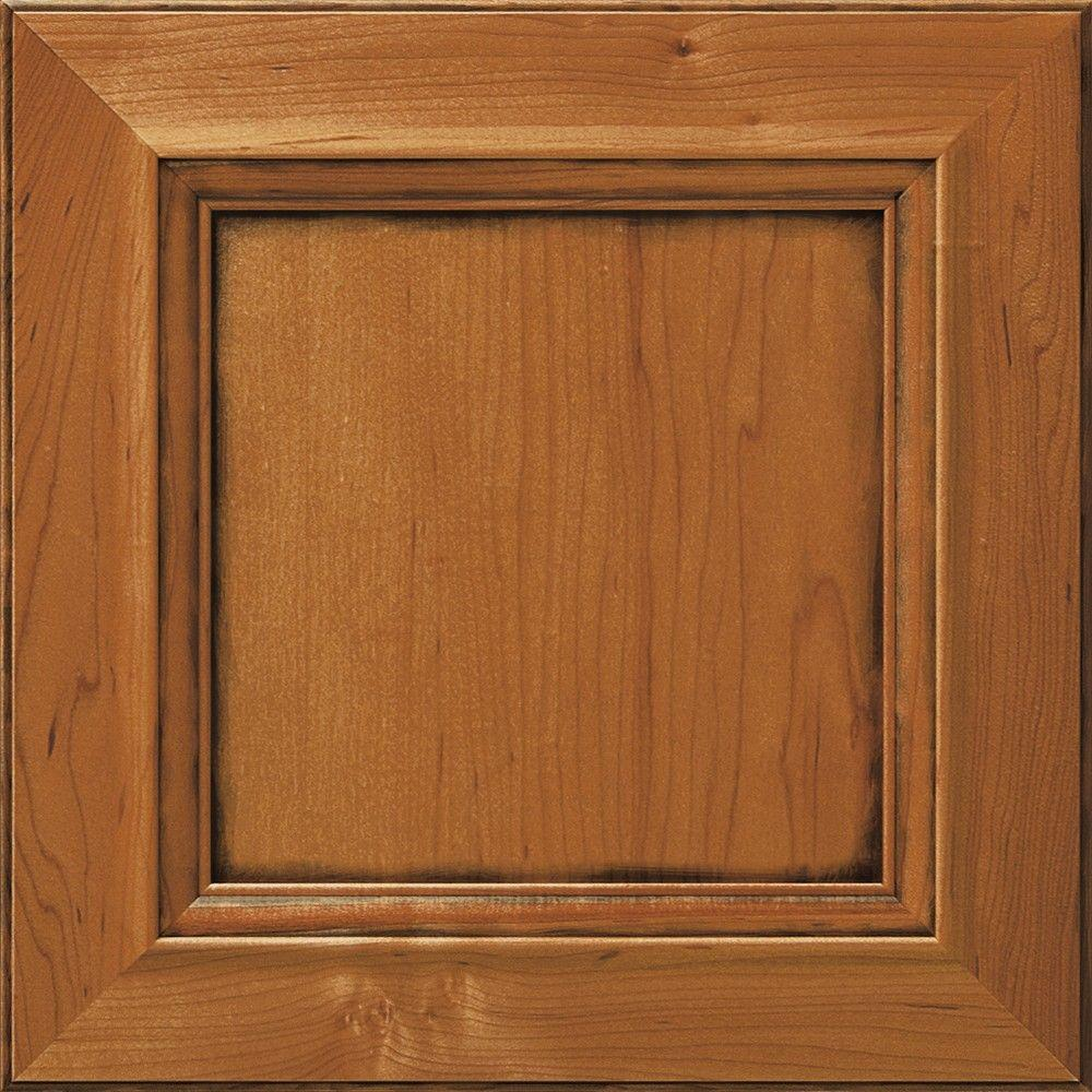 Thomasville 14.5x14.5 in. Cabinet Door Sample in Gibson Whiskey Black
