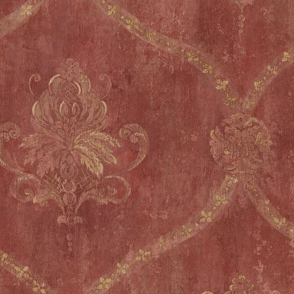 Norwall Regal Damask Wallpaper CH22565