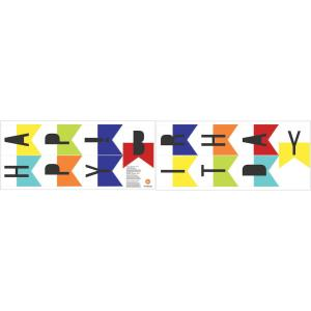 Multicolor Hy Birthday Wall Decal