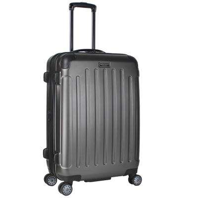 """Logan Square"" Collection Lightweight Hardside ABS 8-Wheel Expandable 25 in. Checked Luggage With Corner Guards"