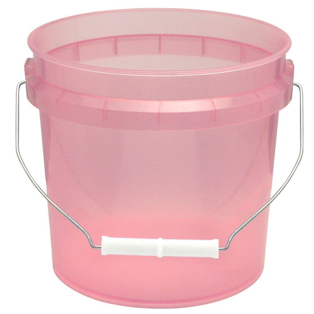 1-Gal. Watermelon Translucent Pail (12-Pack)