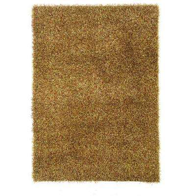Confetti Grass Green and Brown 8 ft. x 10 ft. Area Rug