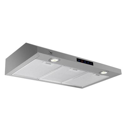 30 in. 480 CFM Convertible Under Cabinet Range Hood in Stainless Steel with Mesh Filter, Touch Control, LED Lights