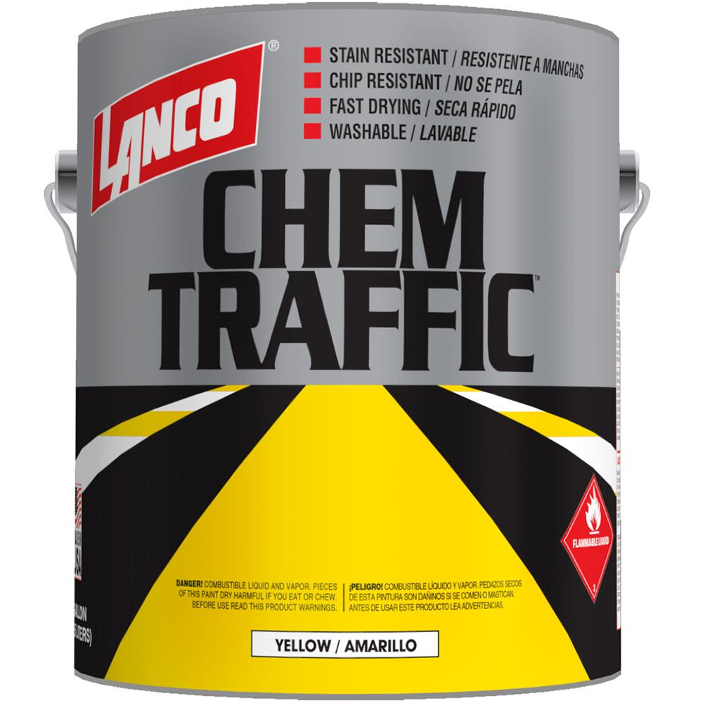 Chem Traffic 1 gal. Yellow Paint