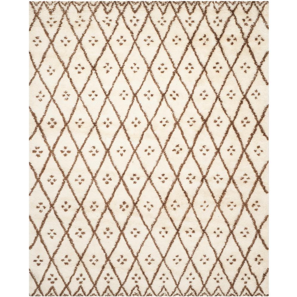 Casablanca Ivory/Gold 8 ft. x 10 ft. Area Rug
