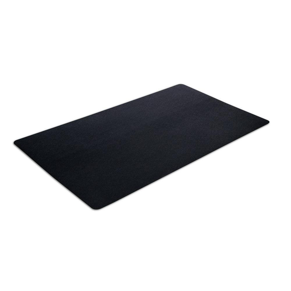 36 in. x 60 in. Multipurpose Black Rubber Mat