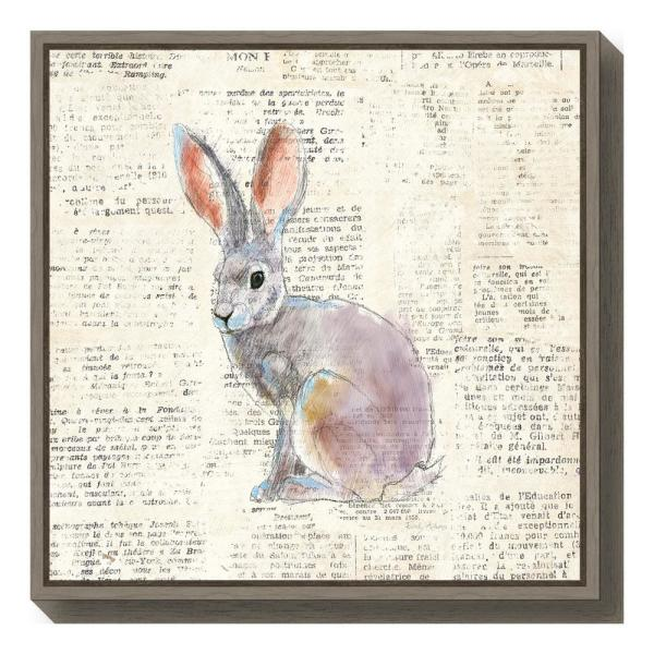 Amanti Art ''Into the Woods I no Border (Hare)'' by Emily