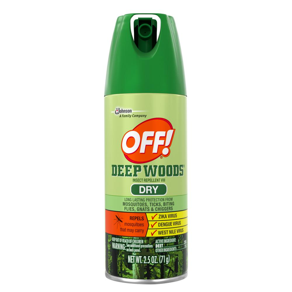 2.5 oz. Insect Repellent VIII Dry Deep Woods (12 per Case)
