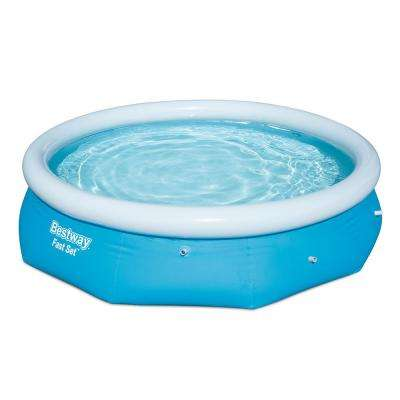 Fast Set 10 ft. Round 30 in. Deep Swimming Pool Set