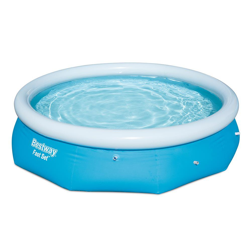 Bestway Fast Set 10 ft. Round x 30 in. Deep Inflatable Pool
