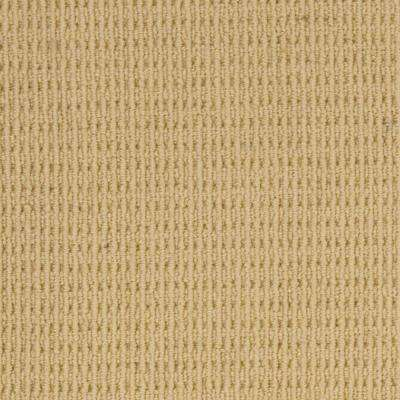 Carpet Sample - Savanna - Color Straw Loop 8 in. x 8 in.