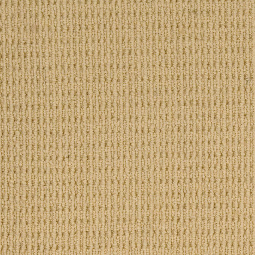 Carpet Sample - Savanna Square - Color Straw Loop 8 in. x 8 in.