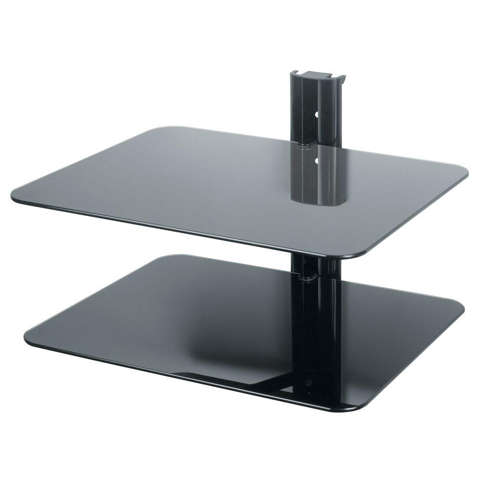 AVF Eco-Mount Double AV Component Shelving System-DISCONTINUED
