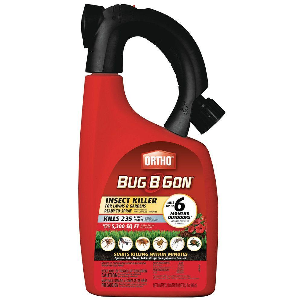 Ortho Bug-B-Gon 32 oz. Max Ready-to-Spray Lawn and Garden Insect Killer