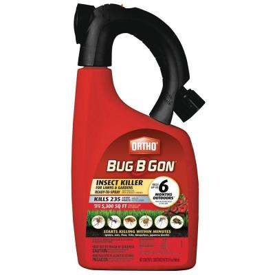 Bug-B-Gon 32 oz. Max Ready-to-Spray Lawn and Garden Insect Killer