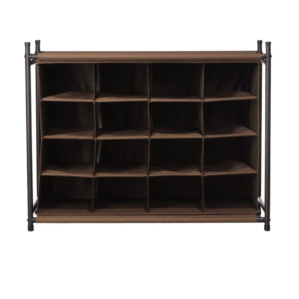 home decorators collection 16 compartment shoe organizer