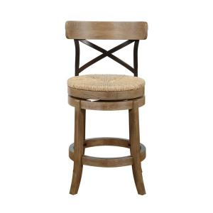 Boraam Myrtle 24 In Counter Stool In Gray 76924 The