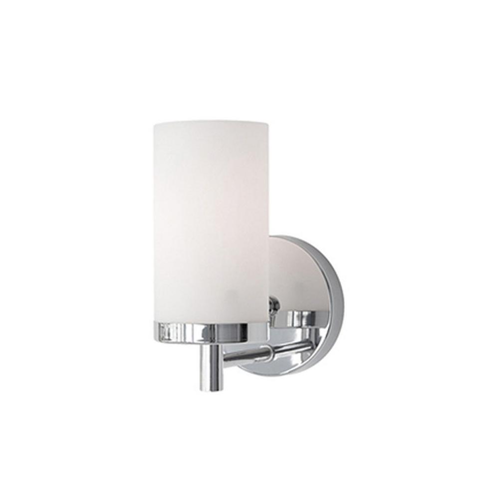Tech Lighting Home Depot: Radionic Hi Tech Bailey 1-Light Chrome Bath Light-K_VA